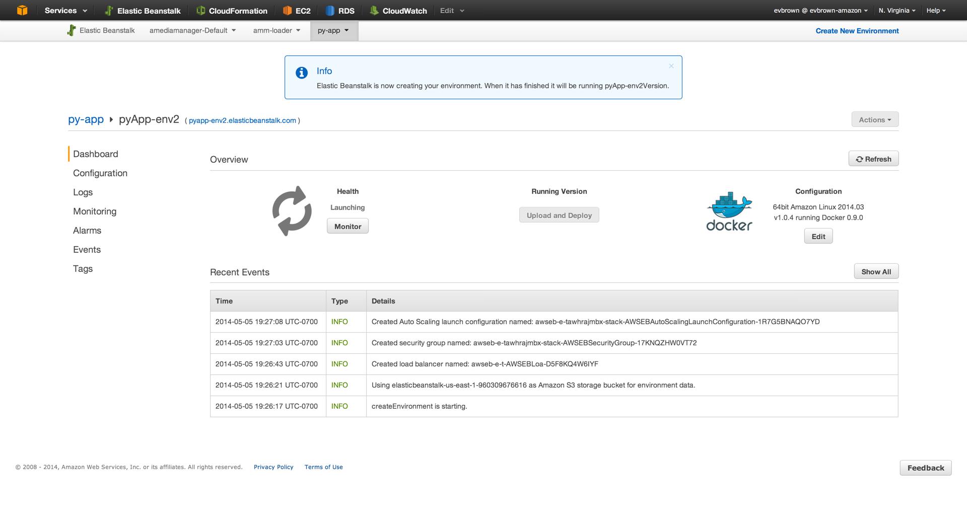 Dockerizing a Python Web App | AWS DevOps Blog
