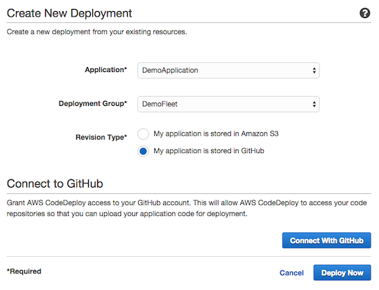 Automatically Deploy from GitHub Using AWS CodeDeploy | AWS DevOps Blog
