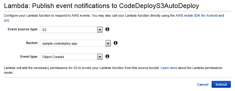 Automatically Deploy from Amazon S3 using AWS CodeDeploy | AWS