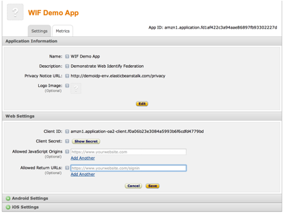 how to build a javascript application in aws