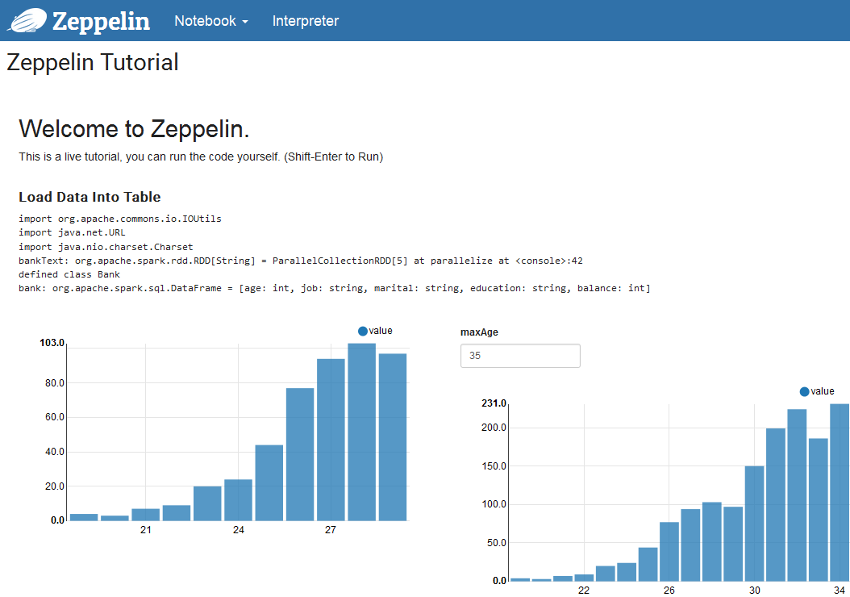 Running an External Zeppelin Instance using S3 Backed Notebooks with