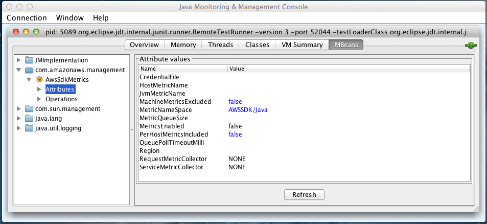 jmx-attributes