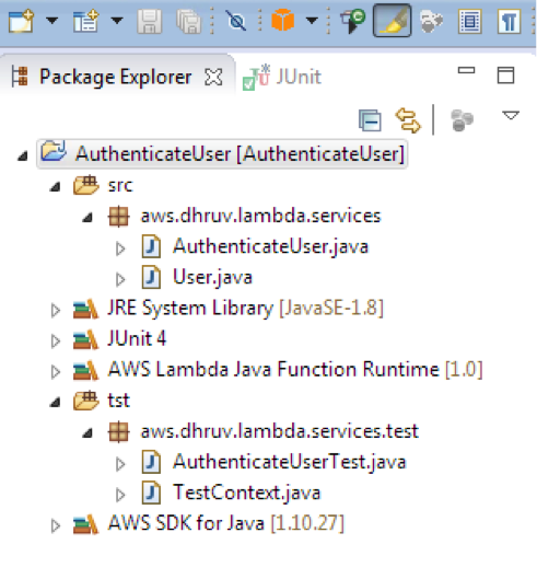 Writing services in java
