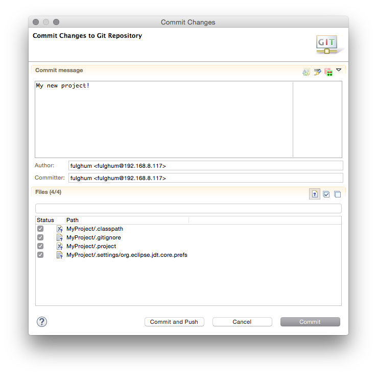 Using AWS CodeCommit from Eclipse | AWS Developer Blog