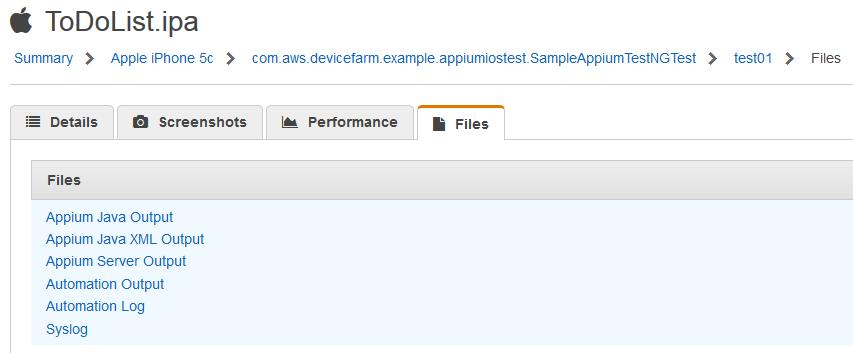 Test iOS apps on AWS Device Farm using Appium – Part 3