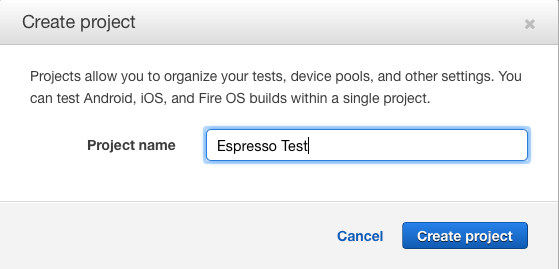 Getting started with Android testing on AWS Device Farm using