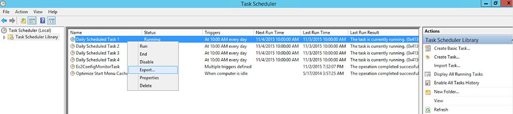 daily task scheduler