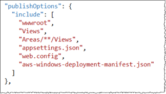 customizing the manifest file for application deployment