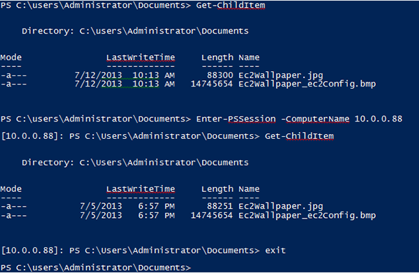 Scripting your EC2 Windows fleet using Windows PowerShell