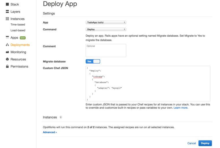 Deploy App