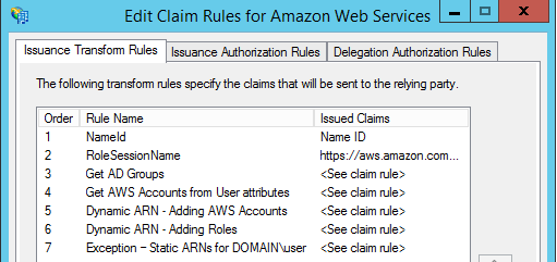 Image of placing the claim rule after all the other claim rules