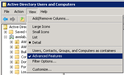 Image of enabling Advanced Features