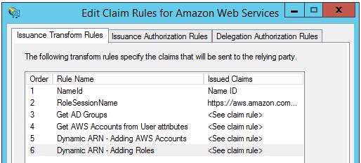 Image of the custom claim rules