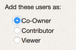 Image of user roles