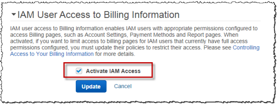 Don't Forget to Enable Access to the Billing Console! | AWS