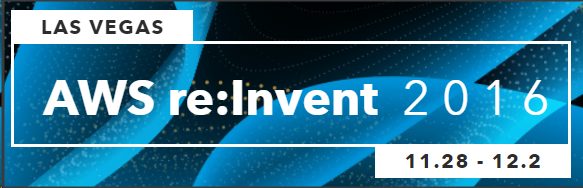 Banner for re:Invent 2016